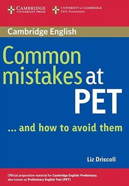 Книга на английском - Cambridge University: Common mistakes at PET and How to Avoid Them (A2: Pre-Intermediate) - обложка книги скачать бесплатно