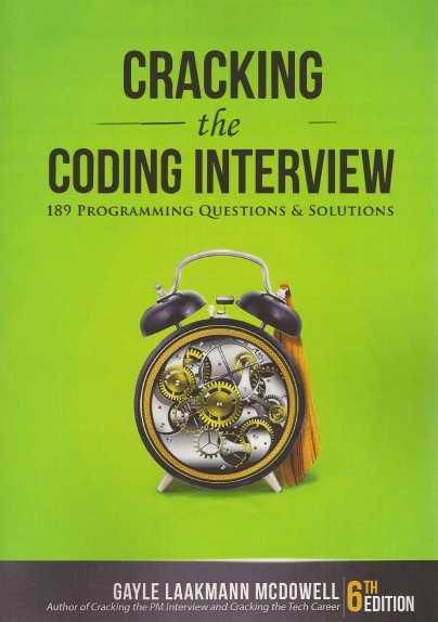 Книга на английском - Cracking the Coding Interview: 189 Programming Questions and Solutions (6th Edition) - обложка книги скачать бесплатно