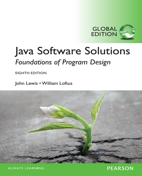 Книга на английском - Java Software Solutions: Foundations of Program Design (Eighth Edition) - обложка книги скачать бесплатно