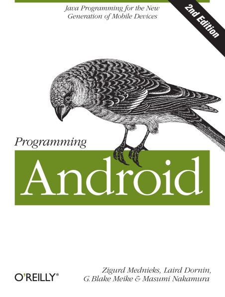Книга на английском - Programming Android: Java Programming for the New Generation of Mobile Devices (Second Edition) - обложка книги скачать бесплатно