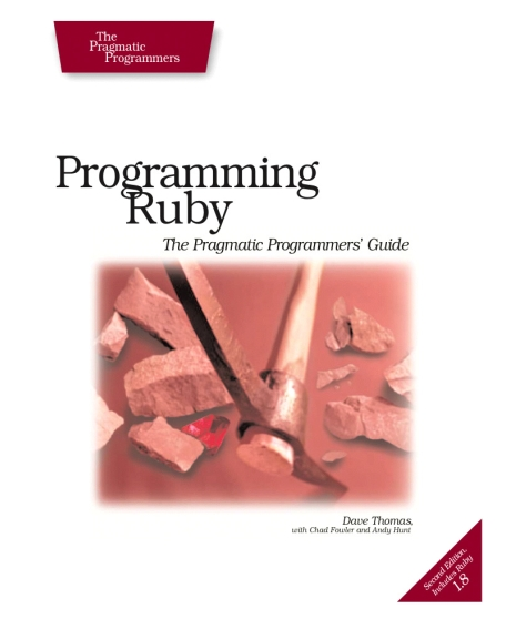 Книга на английском - Programming Ruby: The Pragmatic Programmers' Guide (Second Edition) - обложка книги скачать бесплатно