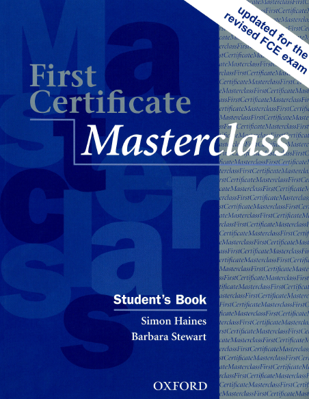 Книга на английском - First Certificate Masterclass: Student's book (Upper-intermediate) - обложка книги скачать бесплатно
