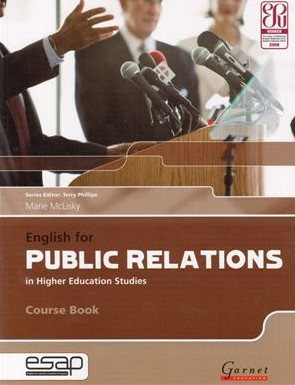 Книга на английском - English for Public Relations (English for PR) in Higher Education Studies - Course Book - обложка книги скачать бесплатно