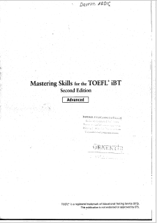 Книга на английском - Mastering Skills for the TOEFL iBT - Second Edition, Casey Malarc (TOEFL preparation) - обложка книги скачать бесплатно