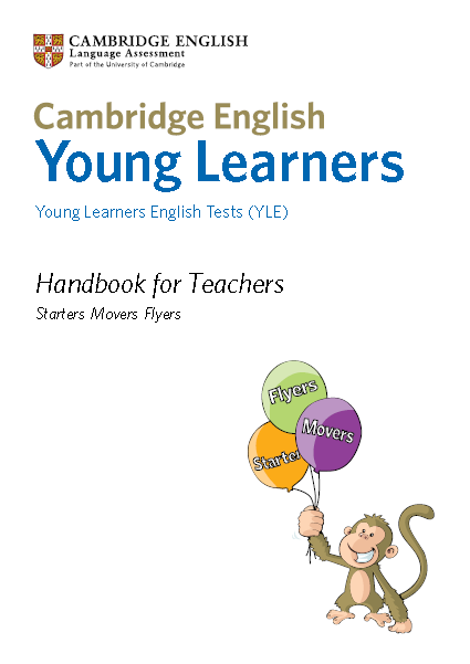 Книга на английском - Sample papers Young Learners English Tests (YLE). Starters Movers Flyers. Handbook for Teachers - обложка книги скачать бесплатно