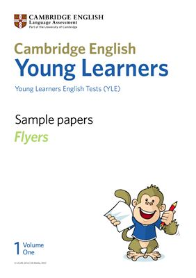 Книга на английском - Sample papers Young Learners English Tests (YLE). Flyers. Volume 1 - обложка книги скачать бесплатно