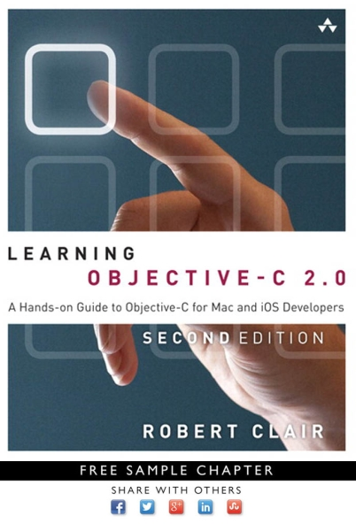 Книга на английском - Learning Objective-C 2.0: A Hands-on Guide to Objective-C for Mac and iOS Developers (Second Edition) - обложка книги скачать бесплатно